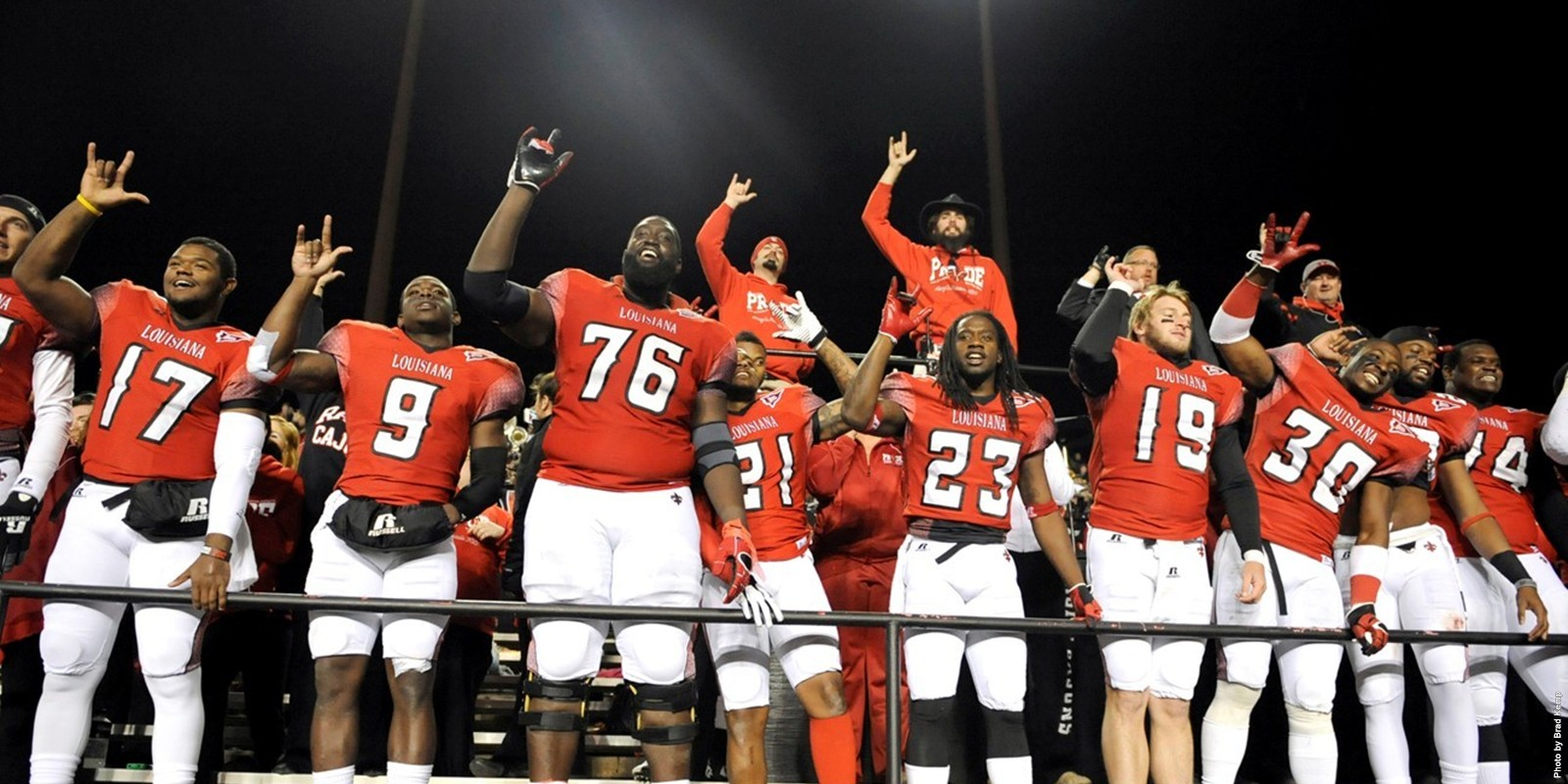 R&L Carriers New Orleans Bowl-bound UL-Lafayette hopes to avoid a letdown in their regular season finale'.