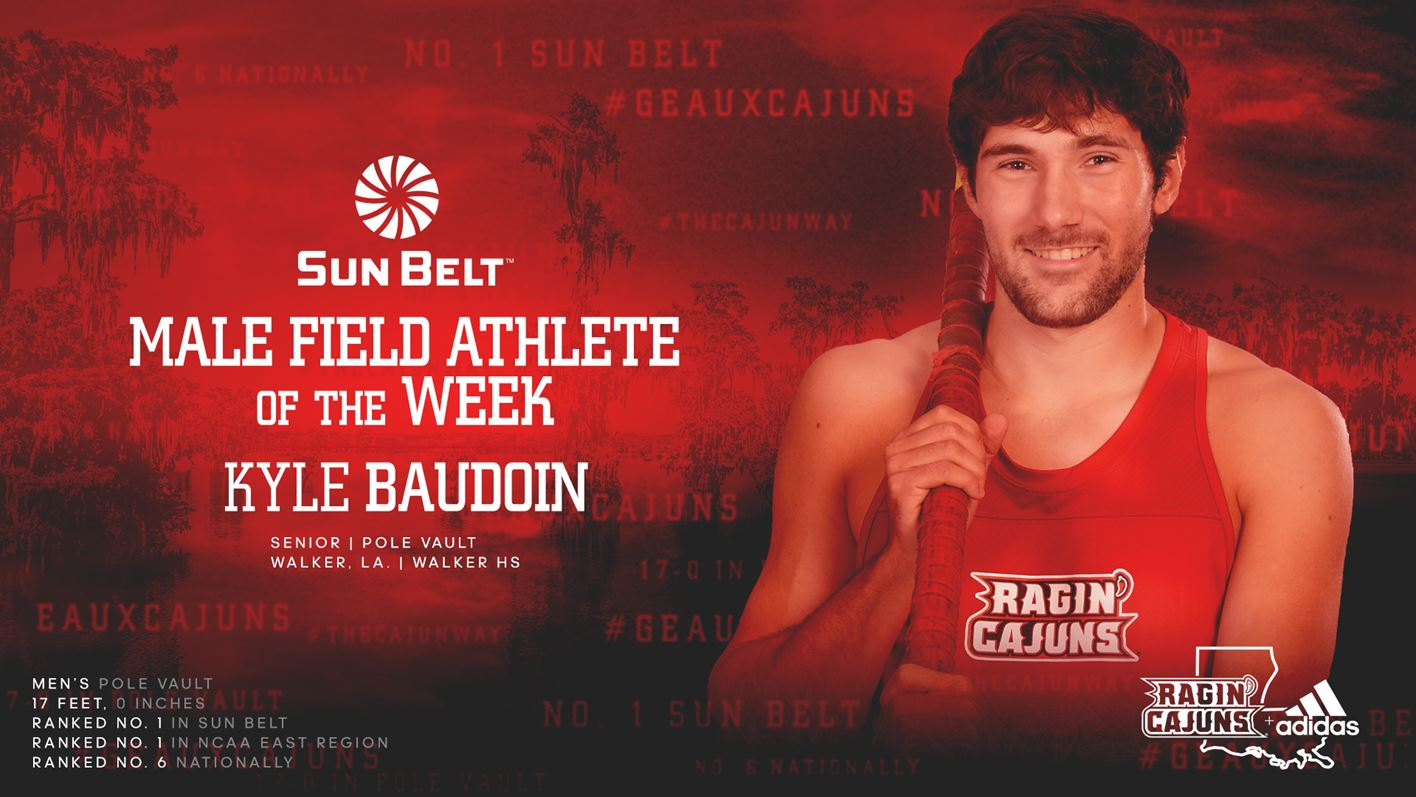 Kyle Baudoin - SBC Field Athlete of the Week
