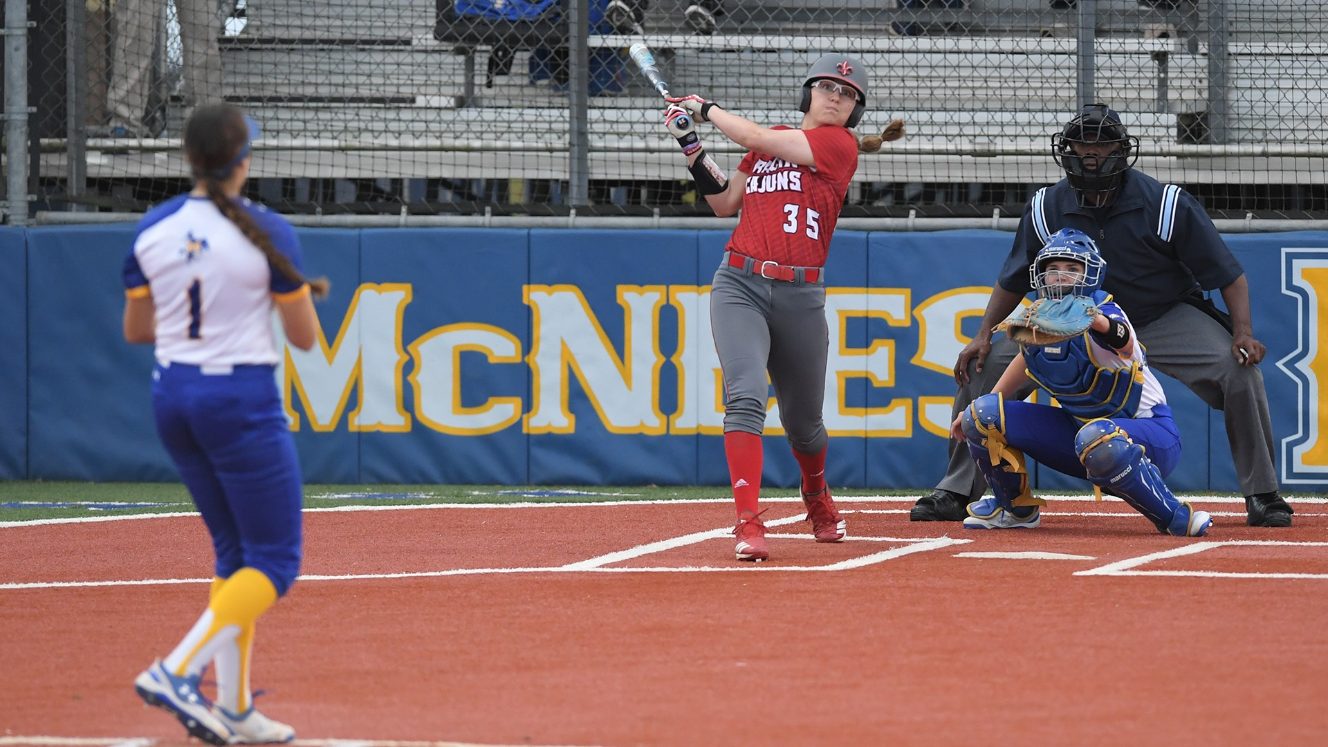 Hudek at McNeese 4.3.19