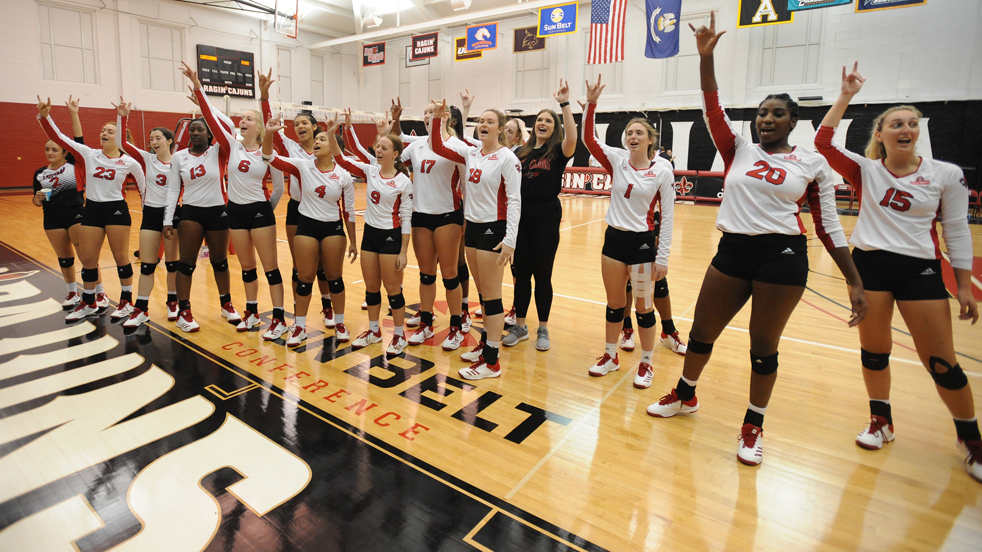 Volleyball Celebrate vs FAMU 9.7.19