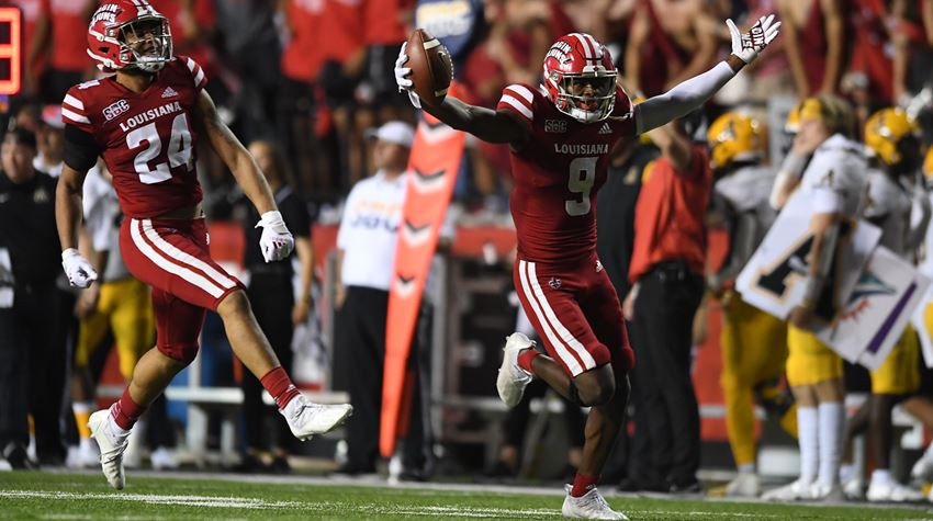 Cajuns blow out App State
