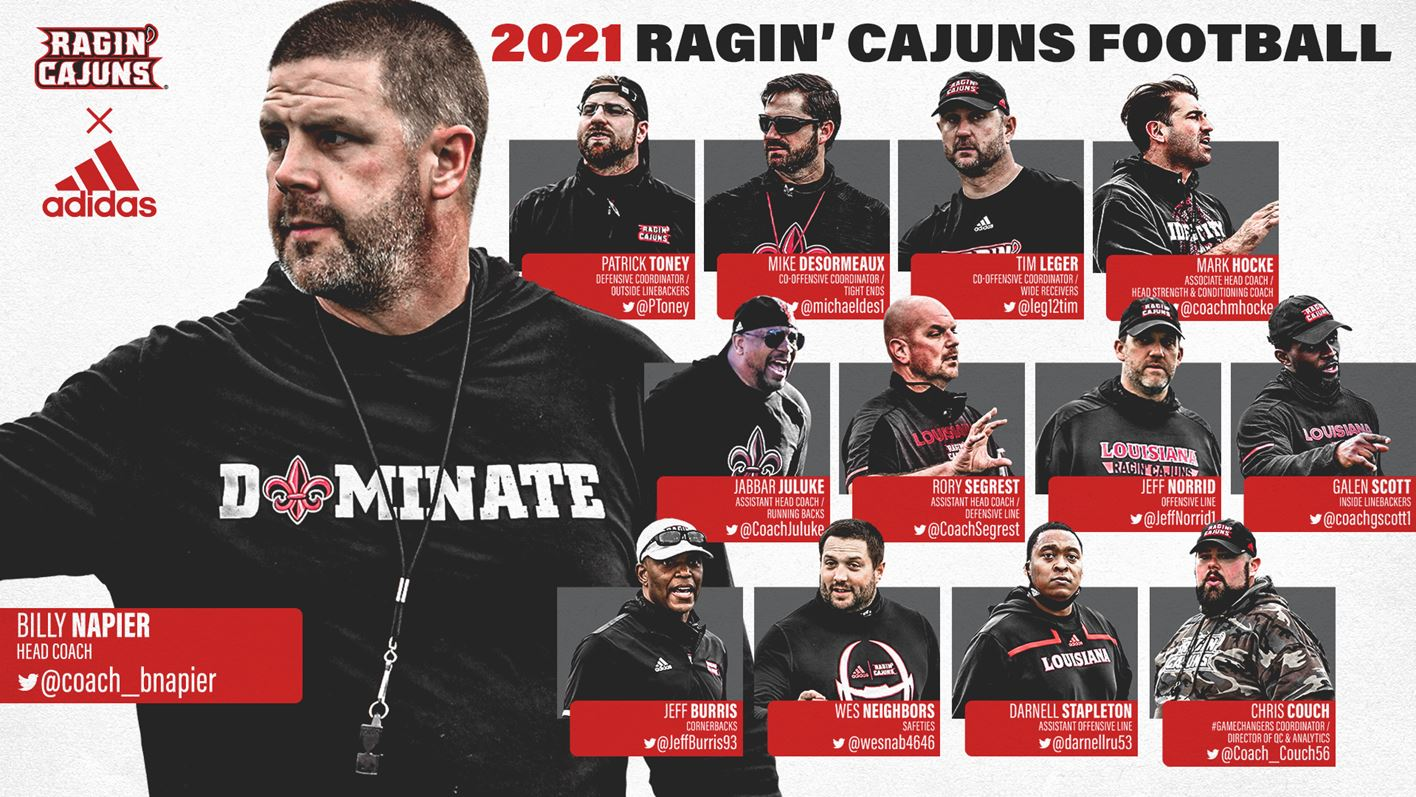 2021 Football Coaching Staff
