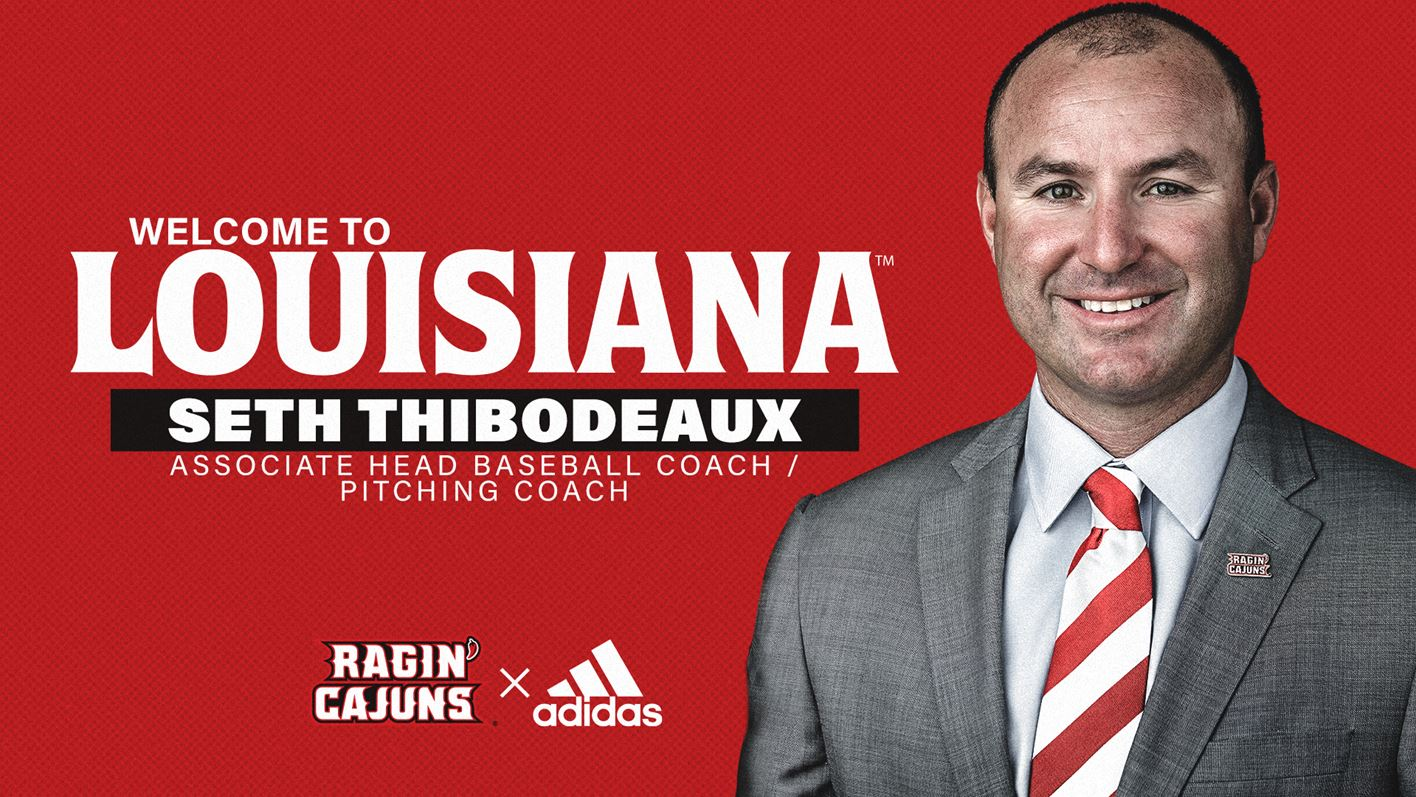Seth Thibodeaux Welcome Graphic